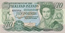 More details for p14a falkland islands ten pounds banknote in mint condition dated 1986