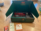 VINTAGE COLEMAN 425E GREEN TWO BURNER CAMP CAMPING STOVE