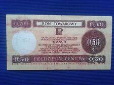 Poland - Bon towarowy Pekao 0,50$ - 1979