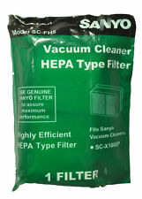 Sanyo Model SC-Z1000P, SC-FH5 Vacuum Cleaner Hepa Filter