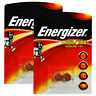 4 x Energizer Alkaline LR43 186 batteries 1.5V 1176A AG12 Watches Calculators