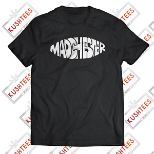 MADCHESTER MANCHESTER OASIS STONE ROSES HAPPY MONDAYS INDIE MUSIC T-SHIRT