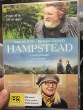 Hampstead region 4 DVD (2017 Diane Keaton comedy drama movie)