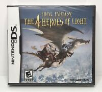 Nintendo DS Final Fantasy: The 4 Heroes of Light Brand New Factory Sealed
