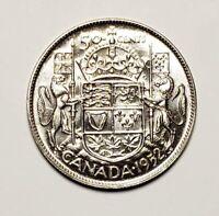 Canada 1952 Silver 50 Cents Half Dollar Coin