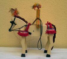 Cavalluccio siciliano in legno, vintage