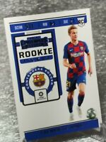 Frenkie De Jong ROOKIE Panini Contenders RT3 BLUE FREE SHIPPING WITH TRACKING