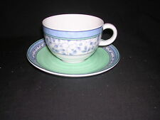 Susanne by Mikasa Flat Cup and Saucer Set