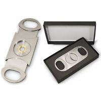 Cuban Crafters Perfect Cigar Cutter Dos Chabetas Up To 80 Ring Gauge