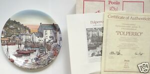 Famous Fishing Harbours Plate Collection (No 1 to 4 sold individually) Poole