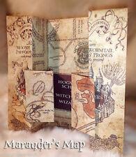 2016 Harry Potter Marauders Map of Hogwarts Castle Beautiful quality