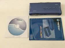 TRENDnet TK-407K USB KVM Switch Kit 4-Port
