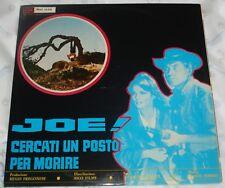 JOE! CERCATI UN POSTO PER MORIRE/JOKO INVOCA DIO ...E MUORI rare Italy lp (1969)
