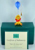 "Walt Disney Classics Collection Winnie the Pooh Figurine ""Up to the Honey Tree"""