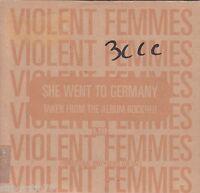VIOLENT FEMMES She Went To Germany 1 track PROMO CD single Card Sleeve