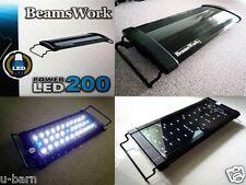 "Beamswork aquarium Power LED 200 light lamp 30-45 cm 11""-17"" tank bright planted"