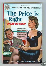 The Price is Right by Jerome Weidman VF/NM 1952