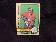 BEAUTIFUL 1972-73 Topps #10 Yvan Cournoyer, Montreal Canadiens, HI GRADE!!