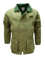 DERBY TWEED BREATHABLE HUNTING SHOOTING JACKET COAT WATERPROOF BRANDED MENS WOOL