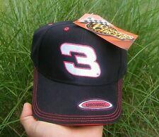 NEW Vintage NASCAR Hat Black #3 Dale Earnhardt Sr NOS Winners Circle Racing Cap