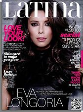 Latina - 2012, November - Eva Longoria, Skin Care To Make You Glow, Latin Food