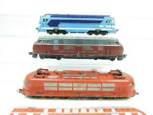 AN149-2# 3x Fleischmann H0/DC Loks V200035+103 118-6 DB+ 68001 SNCF; umlackiert