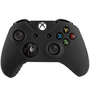 Silikon Case Flexibel Matt Schutzhülle Schwarz für Microsoft Xbox One Controller