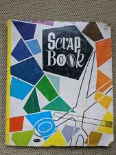 Vintage Album Scrap Book Greeting Cards, Clippings, 1960's Trading Cards