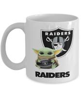 Coffee Mug Las Vegas RAIDERS NFL Football RAIDERS Yoda Coffee Mug Gift