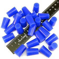 "(100) 1/2"" x 5/8"" High Temp Silicone Rubber Plugs Powder Coat Coating Paint Mask"