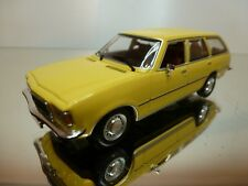 MINICHAMPS OPEL REKORD D 1900 CARAVAN - YELLOW 1:43 - EXCELLENT - 11