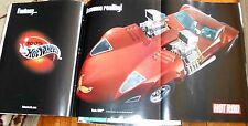 HOT ROD MAGAZINE Jan 2002- HOT WHEELS POSTER, Carburetors