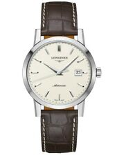 New Longines Heritage 1832 Automatic Men's Brown Leather Strap Watch L48254922