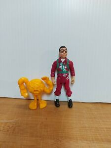 Vintage Kenner Ghostbusters Figure Louis Tulley With Ghost Loose