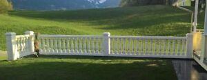Balustraden Balkongeländer Balustrade Baluster Beton-Geländer Säulen
