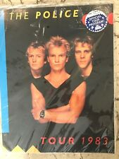 THE POLICE - 1983 Synchronicity Tour Program Book Old NEW SEALED!!