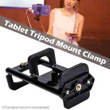 Cell Phone Tripod Adapter Mount Clip Holder Connector Head For 4-11'' iPhone Pad