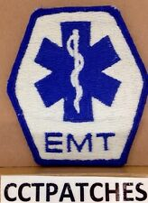 STAR OF LIFE EMERGENCY MEDICAL TECHNICIAN EMS EMT PATCH