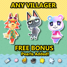 Animal Crossing New Horizons Villager: Raymond, Judy, Audie, Dom, Sherb & More!