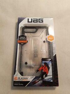 UAG Plasma Military Grade Case for iPhone 8/7/6 Plus- Clear/Black!