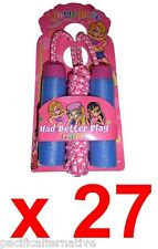 Lot de 27 cordes a sauter pour fille jeux revendeur marché loto association NEUF