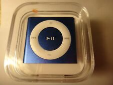 NEW 4th Generation (Latest) Apple iPod Shuffle 2GB - Blue - Factory Sealed