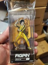 "Bruce Lee in Yellow Jumpsuit FiGPiN #371 Hard Case 3"" Enamel Pin 1st Edition"