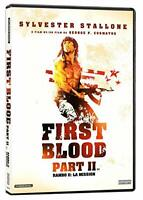 Rambo First Blood II Sylvester Stallone Action Packed DVD