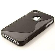 hülle für Apple iPhone 4 / 4s - TPU Silikon Backcover Case Handy Schu
