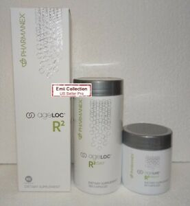 Nu Skin Nuskin Pharmanex ageLOC R2, Day and Night 1 Month Supply Exp 10/2022