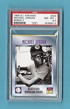 Michael Jordan Basketball Baseball 1995 S.I. For Kids #349 PSA 8.5 NM-MT+