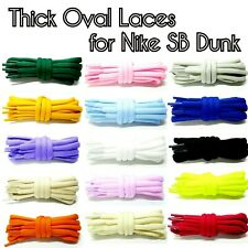 Thick Oval Shoe Laces Replacements Laces for Dunk SB Low Hi