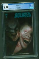 DCeased #1 CGC 9.8 Torpedo Comics Edition A Variant Cover Ben Oliver Limited