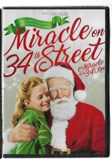 Sealed DVD Christmas Movie 70TH Anniversary MIRACLE ON 34TH STREET Also French